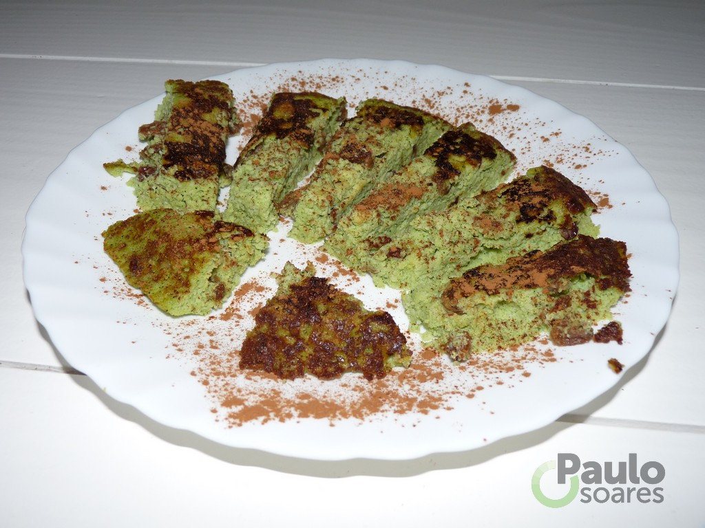 Hulk courgette omelet